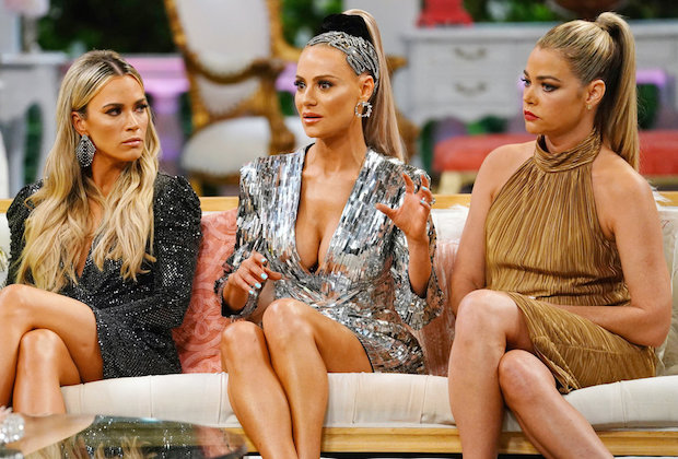 Real Housewives of Beverly Hills Reunion RHOBH Teddi Dorit Denise