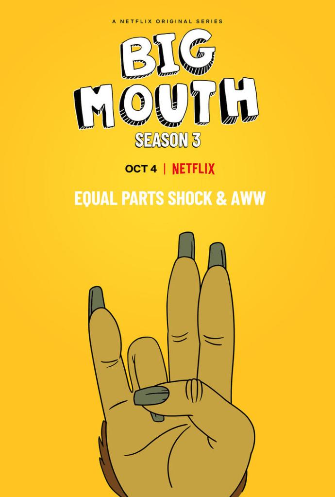 Big Mouth Season 3 - Netflix