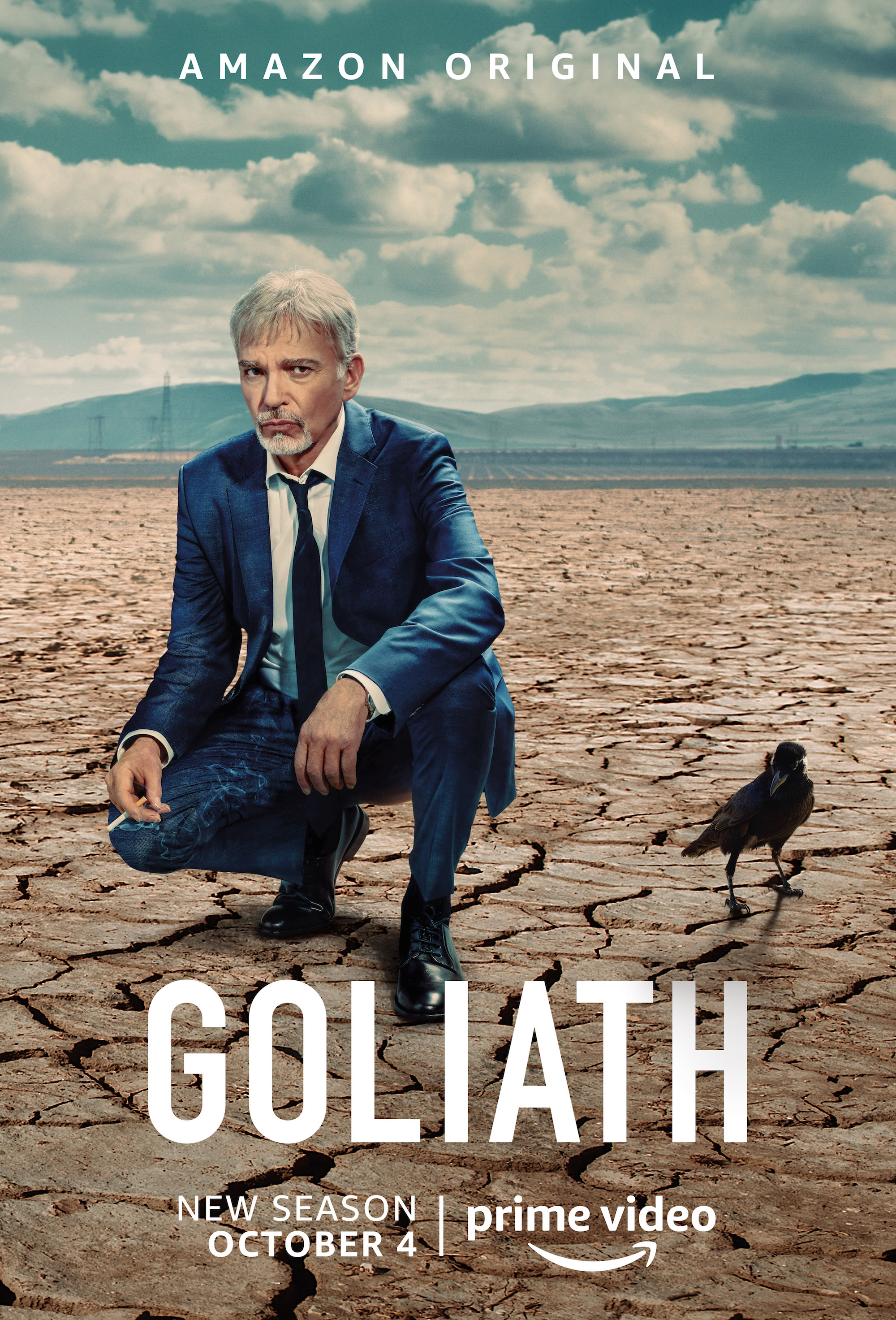 Goliath Season 3 Poster - Amazon Prime