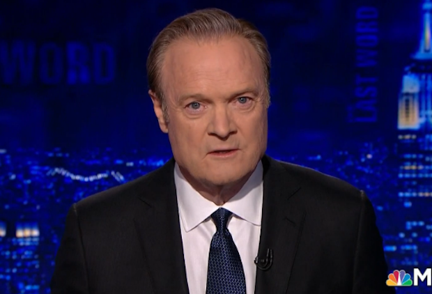Lawrence O'Donnell Apology Trump Retraction MSNBC