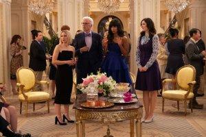 The Good Place Season 4 Premiere Eleanor Michael Tahani Janet