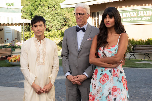 The Good Place Season 4 Premiere Jason Michael Tahani