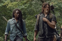 The Walking Dead Season 10 Key Art Prepares Its Three Remaining Veterans for a Brutal War With the Whisperers