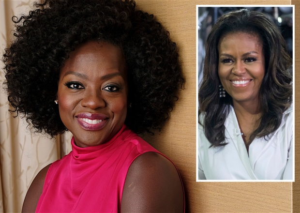 Viola Davis Michelle Obama First Ladies