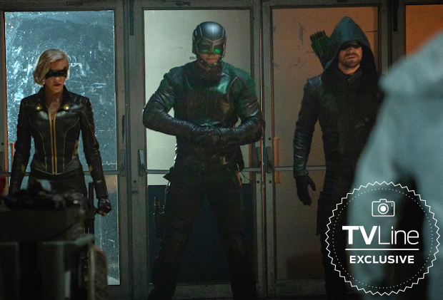 Arrow Season 8 Earth-2