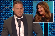 Blake Griffin Takes NSFW Shots at Caitlyn Jenner in First Clip From Comedy Central's Alec Baldwin Roast