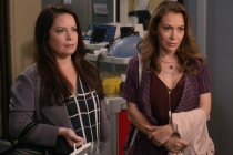 Charmed Reunion Video: Alyssa Milano and Holly Marie Combs Face a Sisterly Crisis on Grey's Anatomy — Watch