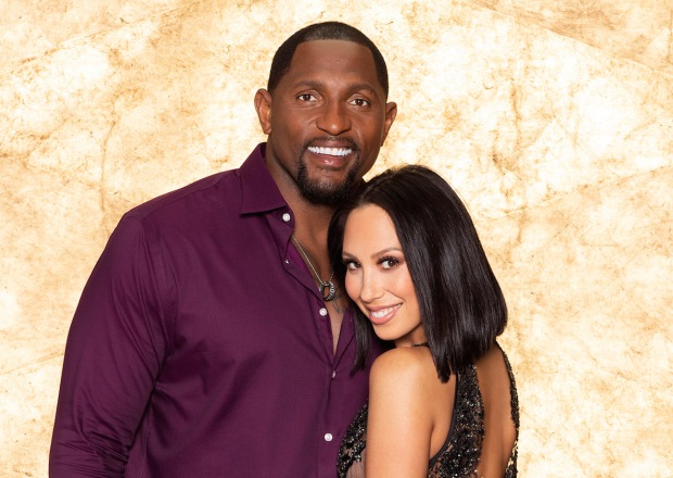Dancing With the Stars Ray Lewis Cheryl Burke Withdrawing DWTS