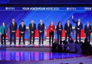 Democratic Debate Poll Results