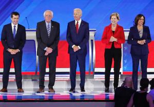Ratings Democratic Debate