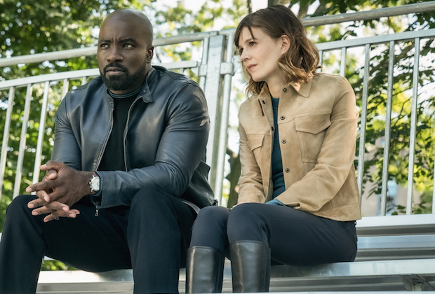 Evil CBS Review Katja Herbers Mike Colter