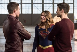 Arrow Amell Benoist Gustin