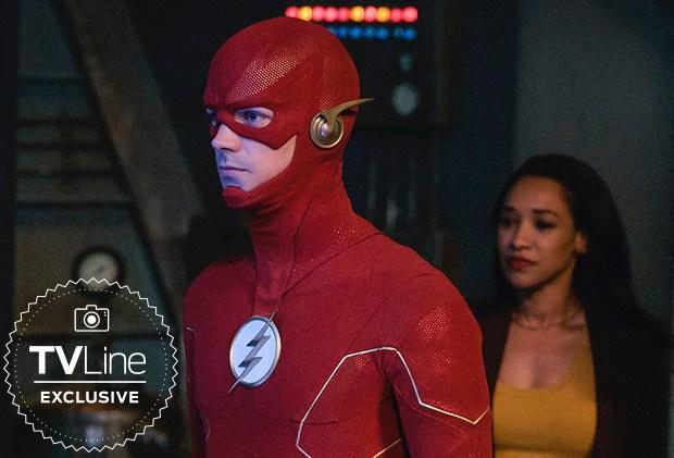 Flash Season 6 New Costume