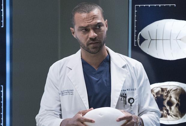 Grey's Anatomy Jesse Williams Season 16