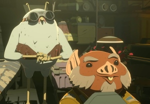Star Wars Resistance Gay Couple