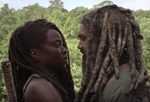 the-walking-dead-season 10 spoilers michonne ezekiel romance