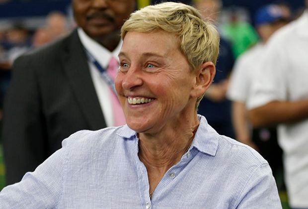 Ellen DeGeneres George W Bush