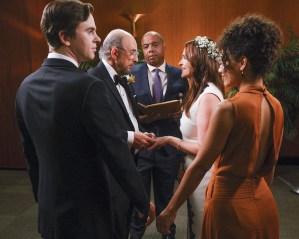 The Good Doctor 3x04 - Glassman Wedding