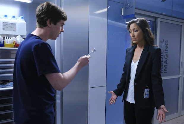 'The Good Doctor' 3x06 - Shaun and Lim in '45-Degree Angle'