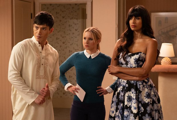 The Good Place Season 4 Episode 4 Jason Eleanor Tahani