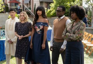 The Good Place Season 4 Episode 6 Jason Eleanor Tahani Chidi Simone