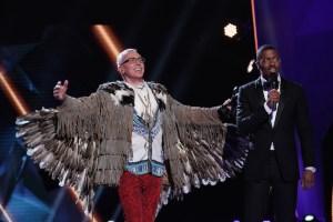 The Masked Singer Dr Drew Pinsky Eagle Unmasked Season 2 Episode 3