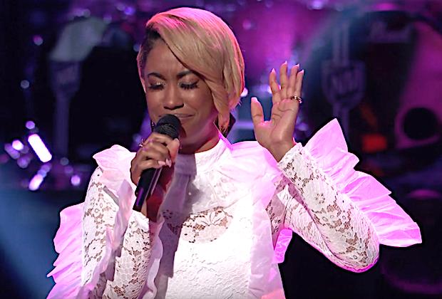 the-voice-recap-khalea lynee james violet-knockouts