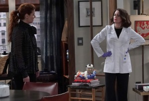 will-grace-megan mullally debra messing feud commentary