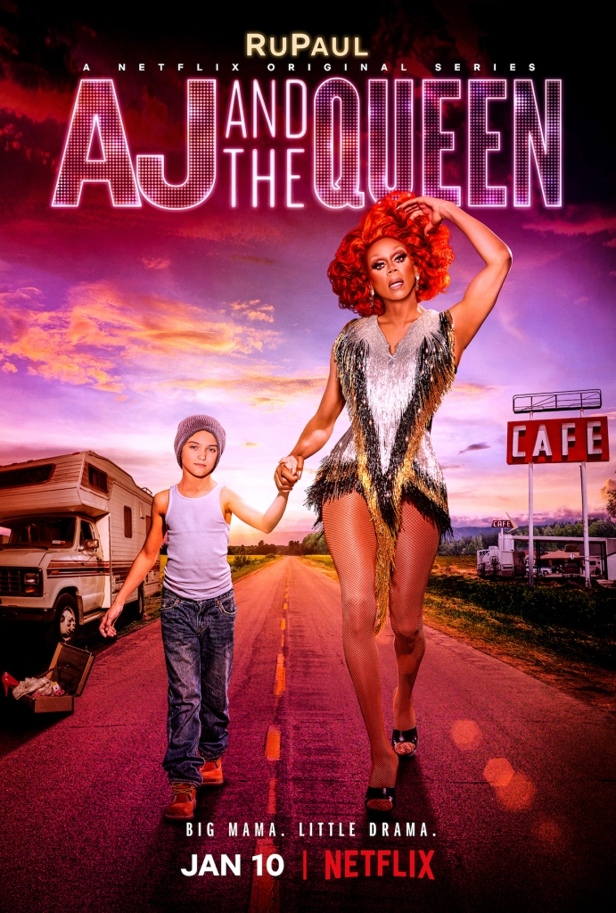 AJ and the Queen Poster RuPaul Netflix
