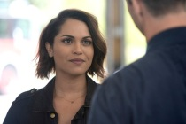 Chicago Fire's Monica Raymund Previews Gabby's Return, 'Dawsey' Reunion