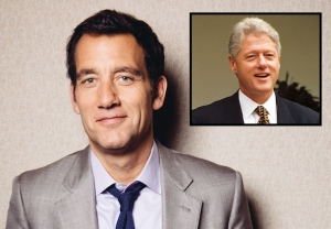 Clive Owen Cast as Bill Clinton