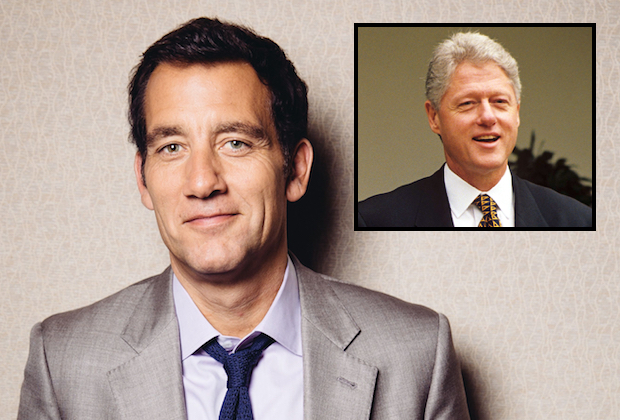 Clive Owen Cast as Bill Clinton