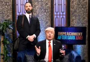 Jimmy Fallon as Donald Trump, Tony Hale as Gary Walsh