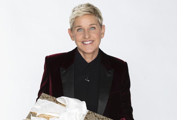 Ellens Christmas At Home Giveaway 2021 Degeneres Leads Ellen S Greatest Night Of Giveaways Holiday Specials Tvline