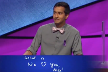 Jeopardy! Host Alex Trebek Gets Choked Up by Contestant's Sweet Message of Support — Watch