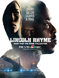 Bone Collector Poster Lincoln Rhyme Season 1 NBC