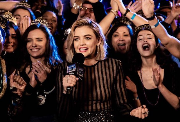 Lucy Hale Seacrest New Years Eve