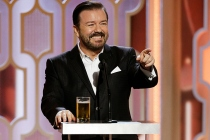 Golden Globes 2020: Ricky Gervais Returning to Host for Fifth Time