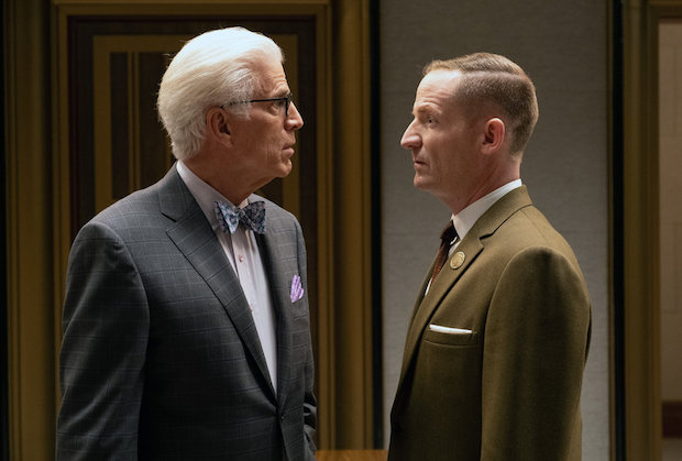 The Good Place Season 4 Episode 8 Michael Shawn