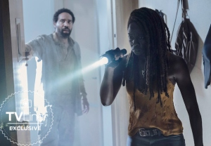 the-walking-dead-season-10-episode-9-first-photo danai gurira leaving