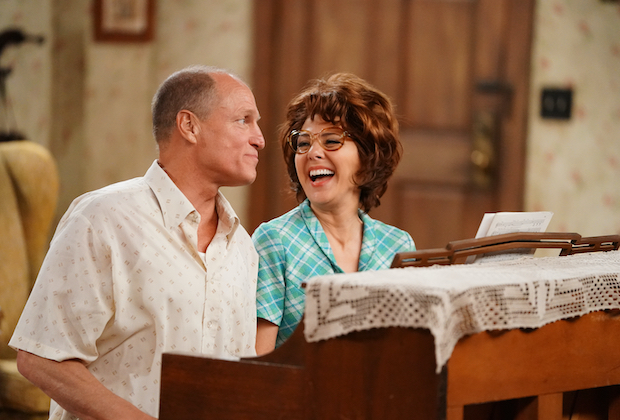 All In The Family Live Cast Returning Marisa Tomei Woody Harrelson Tvline