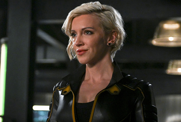 Arrow Katie Cassidy Interview