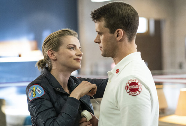 Chicago Fire Casey/Brett