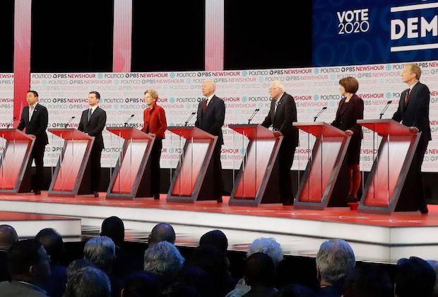 Democratic Debate Results
