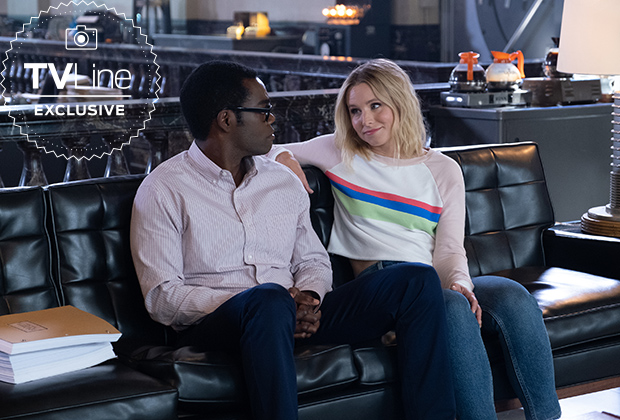 The Good Place Season 4 Episode 11 Eleanor Chidi Bad Place Headquarters