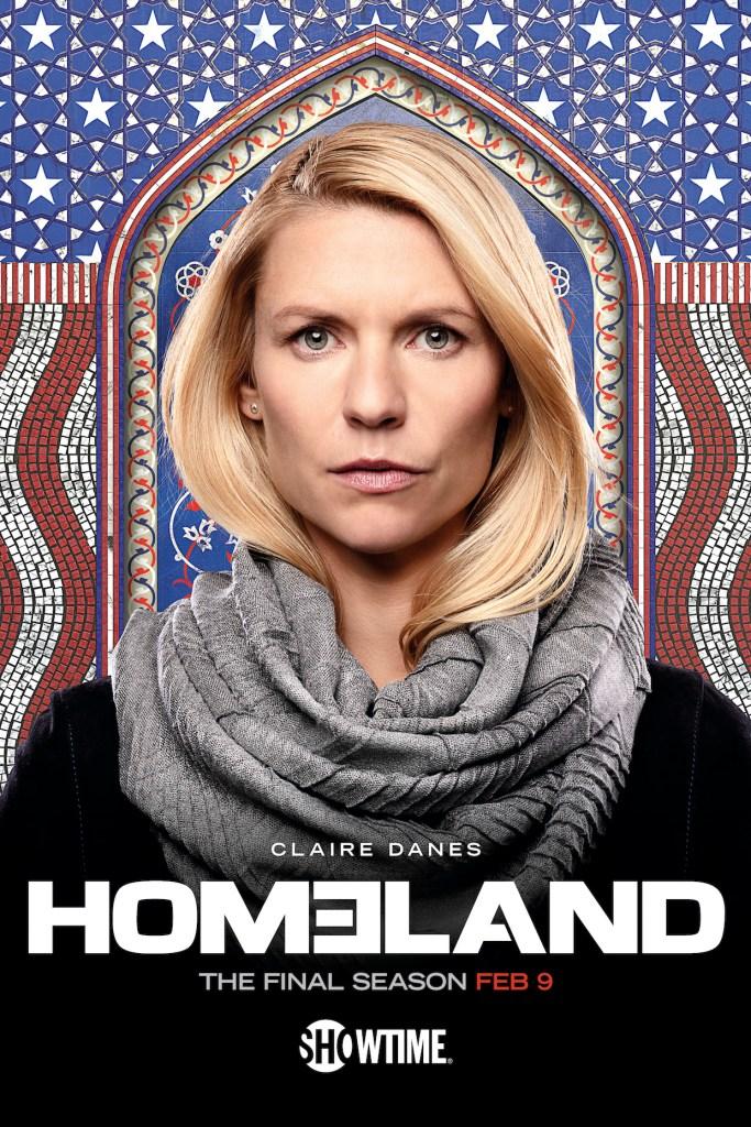 Homeland Final Season 8 Poster