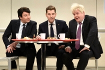 SNL Cold Open: Jimmy Fallon, Paul Rudd and James Corden Are the Trump-Teasing 'Cool Kids' of NATO