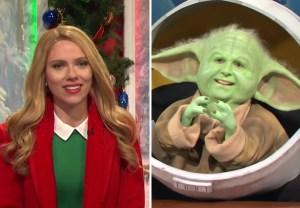 SNL - Scarlett Johansson, Baby Yoda