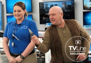 Dean Norris on 'Superstore'