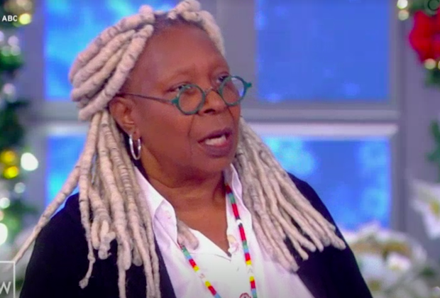 View fight video whoopi meghan